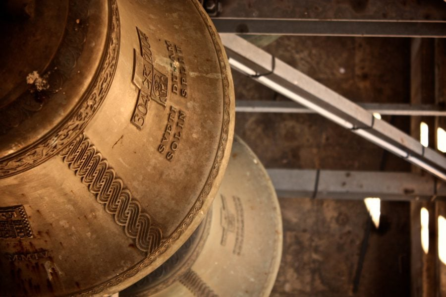 Clopot în turnul din Split, Croația