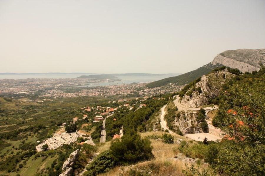 Munții din jurul fortăreței Klis, Croația