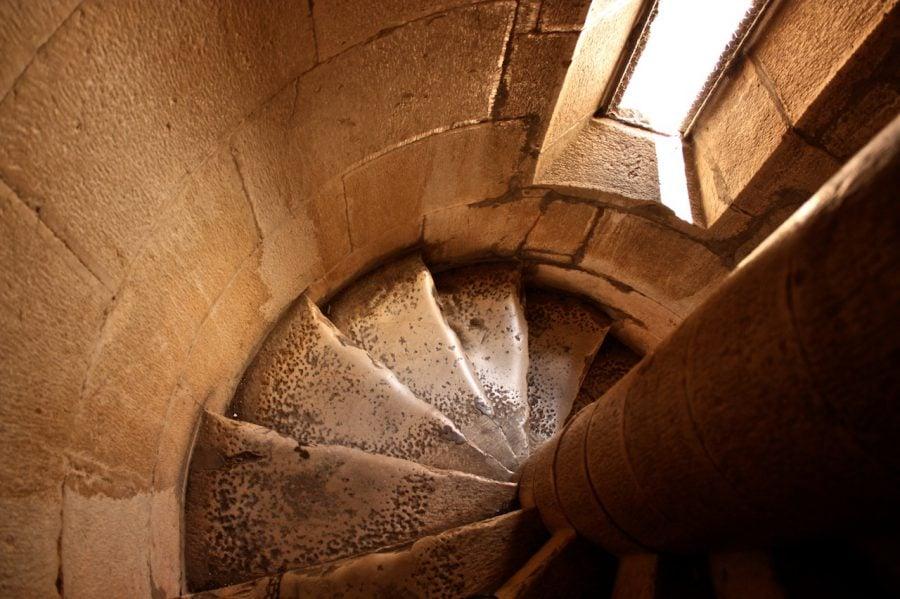Scări în spirală, Trogir, Croația