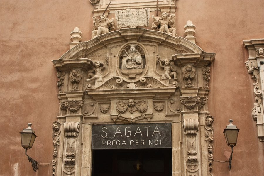 Biserica Santa Agata, Catania