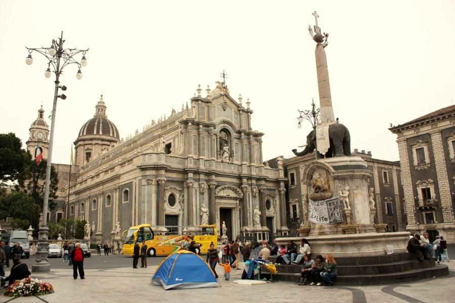 Piazza del Duomo din Catania
