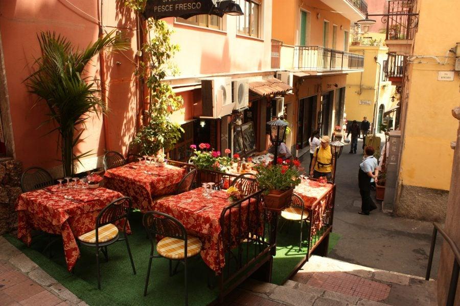 Străduță în Taormina