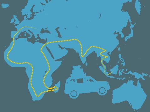 Aventură 4x4 Africa Asia