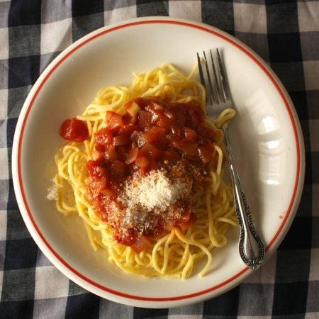 Romanian pasta :)
