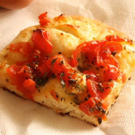 Pizza (or maybe pizzetta) (Pachino)