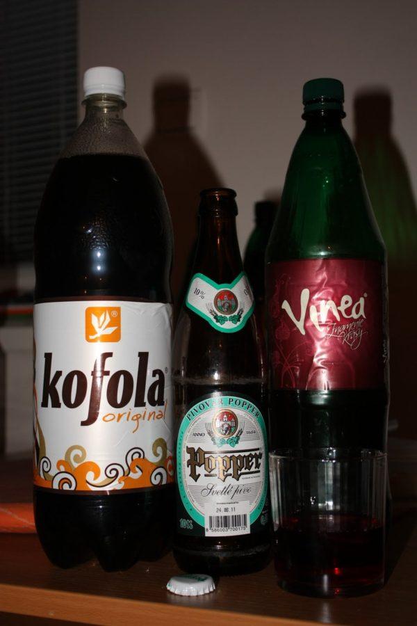 Kofola și Vinea, produse slovace
