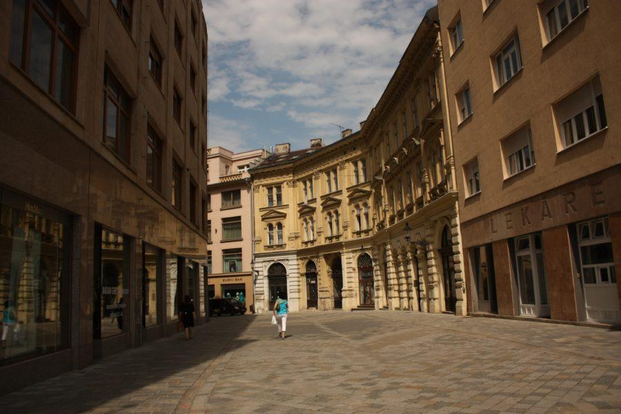 Stradă în centrul Bratislavei