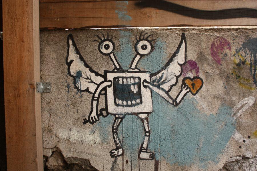 Graffiti în Bratislava