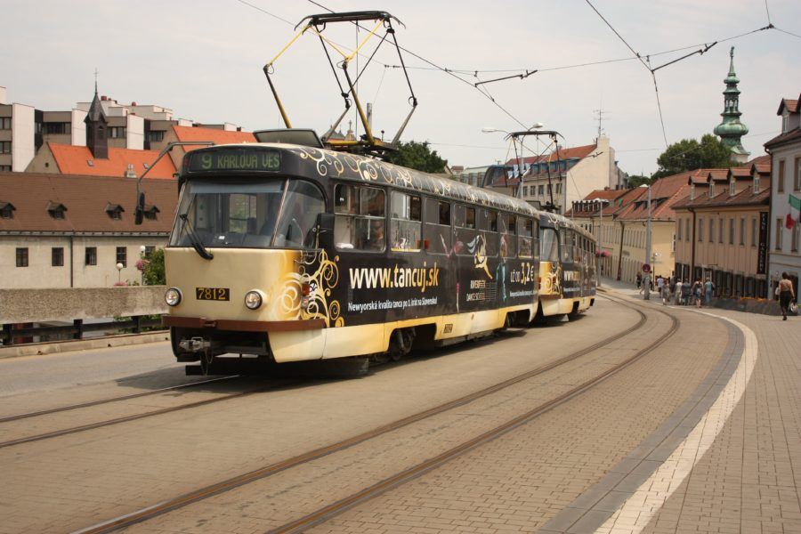Tranvai în Bratislava