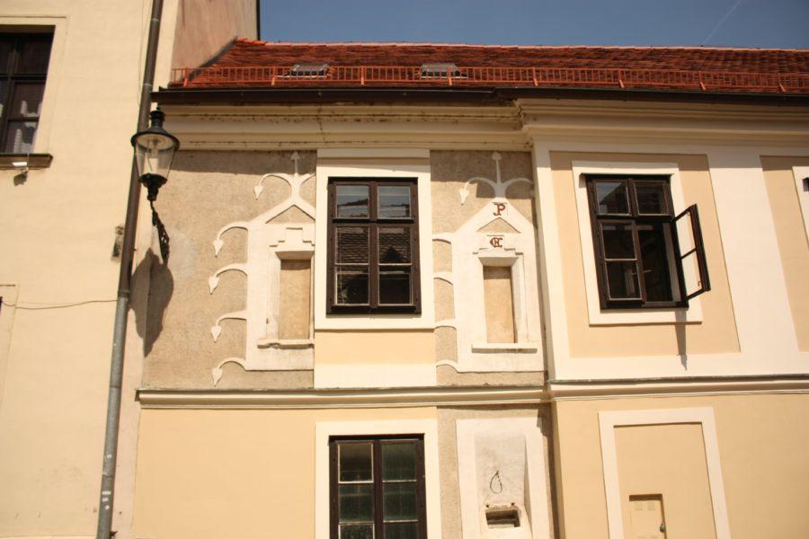 Clădiri în centrul vechi al Bratislavei
