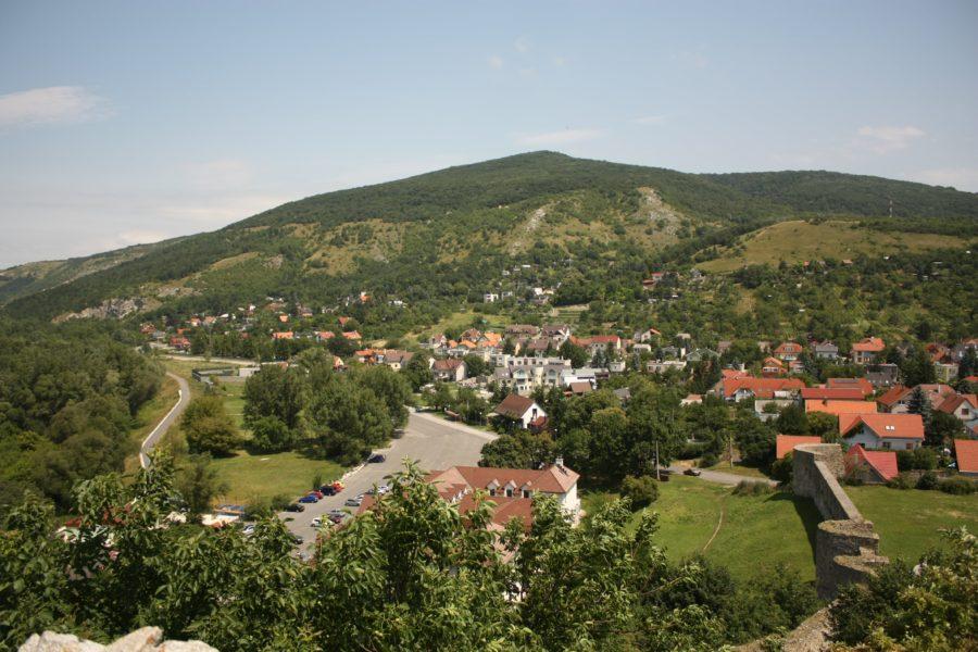 Vedere din Castelul Devin, Slovacia