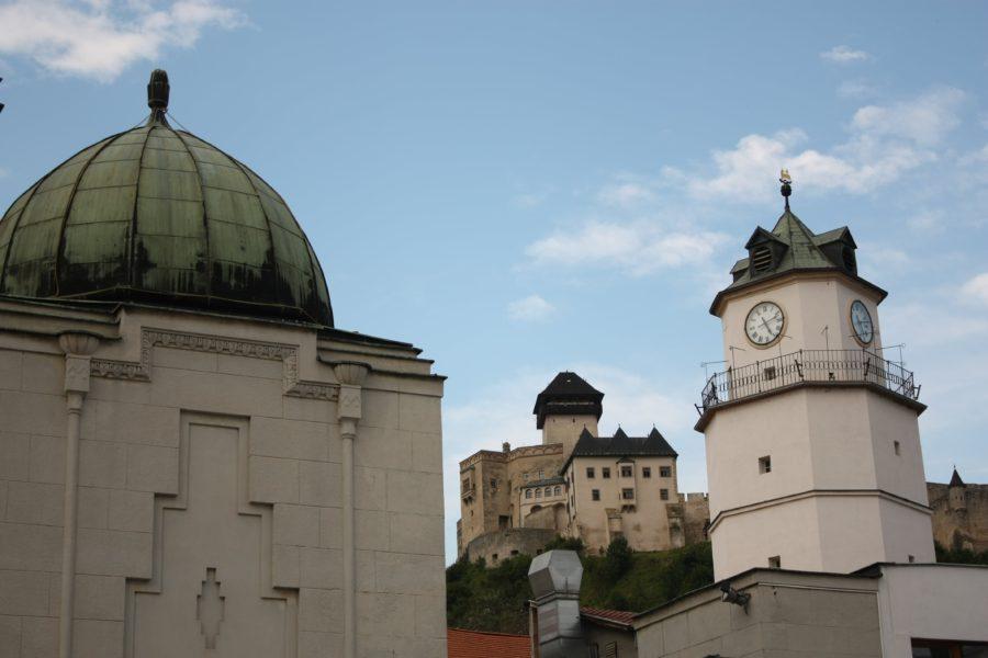 Castelul din Trencin, Slovacia