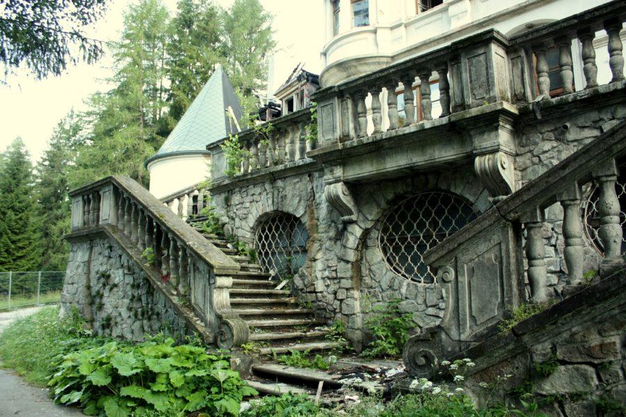 Conacul Kunerad părăsit, Slovacia