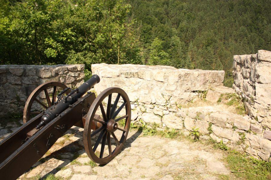 Tun în Castelul Stecno, Slovacia