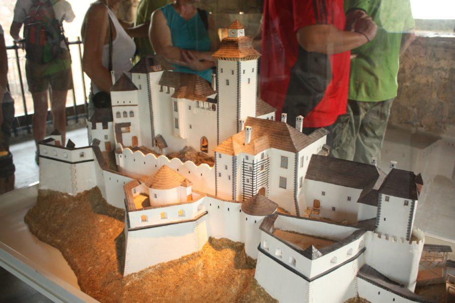 Macheta Castelului slovac din Strecno