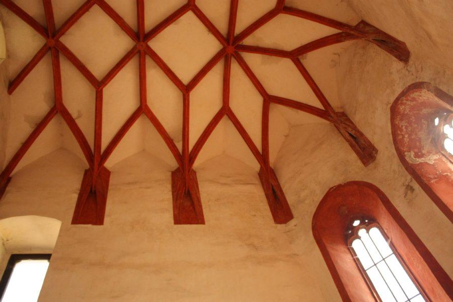 Tavan cameră castel slovac, Strecno, Slovacia