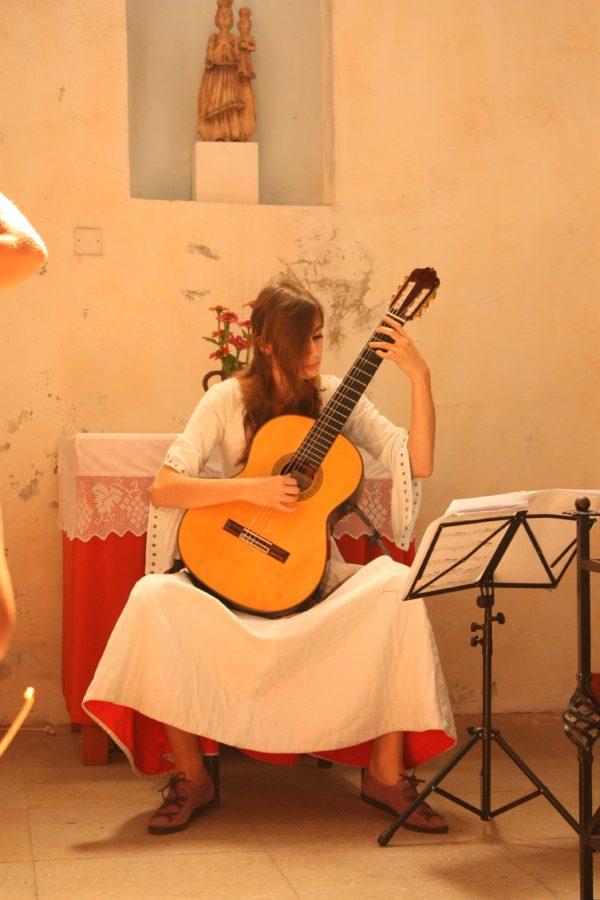 Concert muzică medievală la castel, Strecno, Slovacia