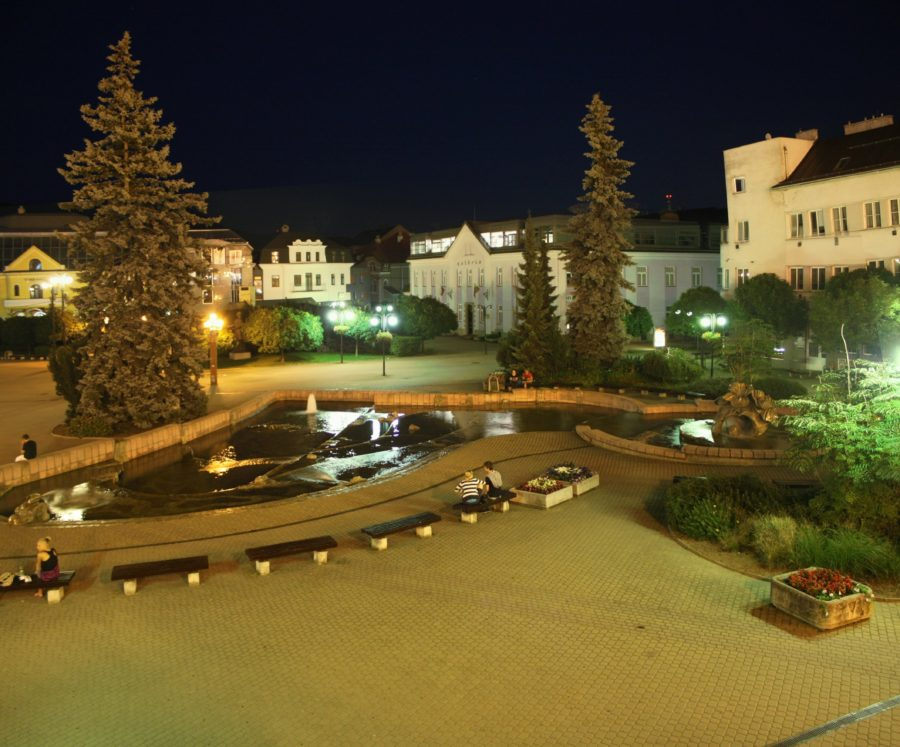 Piața Marianske, zilina, Slovacia