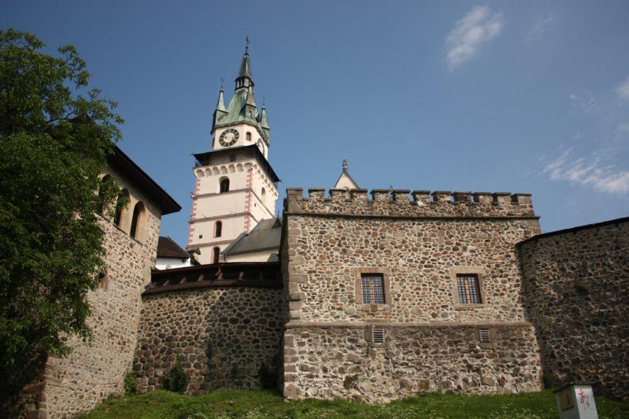 Turn cu ceas, Kremnica, Slovacia