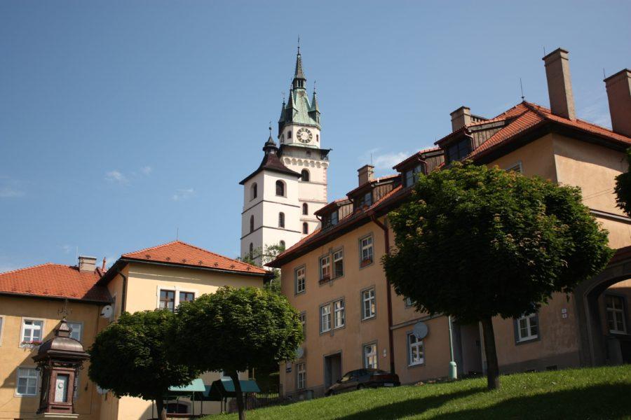 Clădiri în Kremnica, Slovacia
