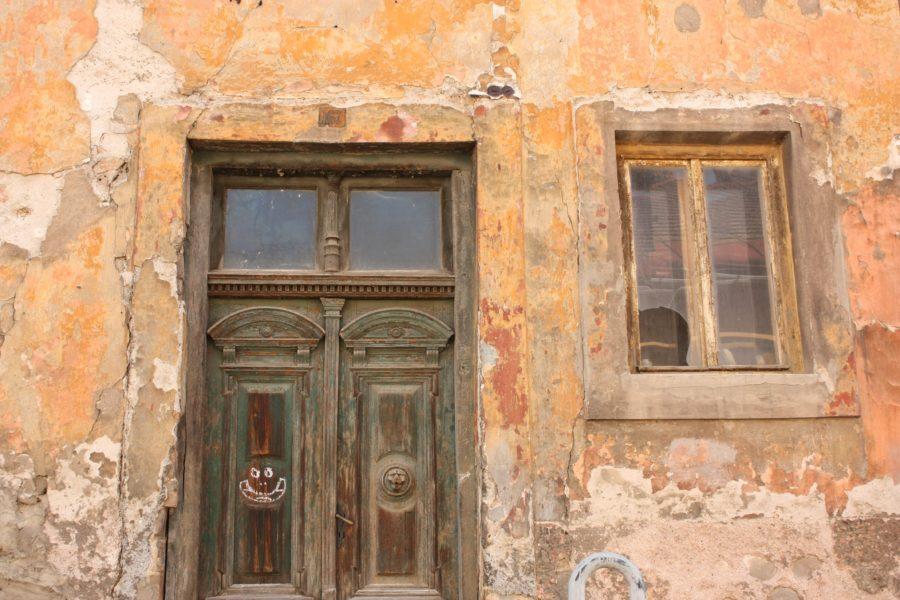 Poartă și fereastră, Kremnica, Slovacia