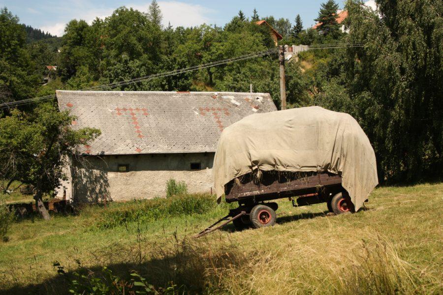 Remorcă pentru munci agricole