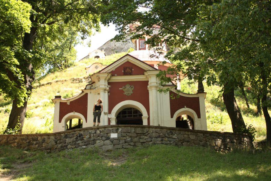 Biserică barocă, Kalvary, Banska Stiavnica, Slovacia