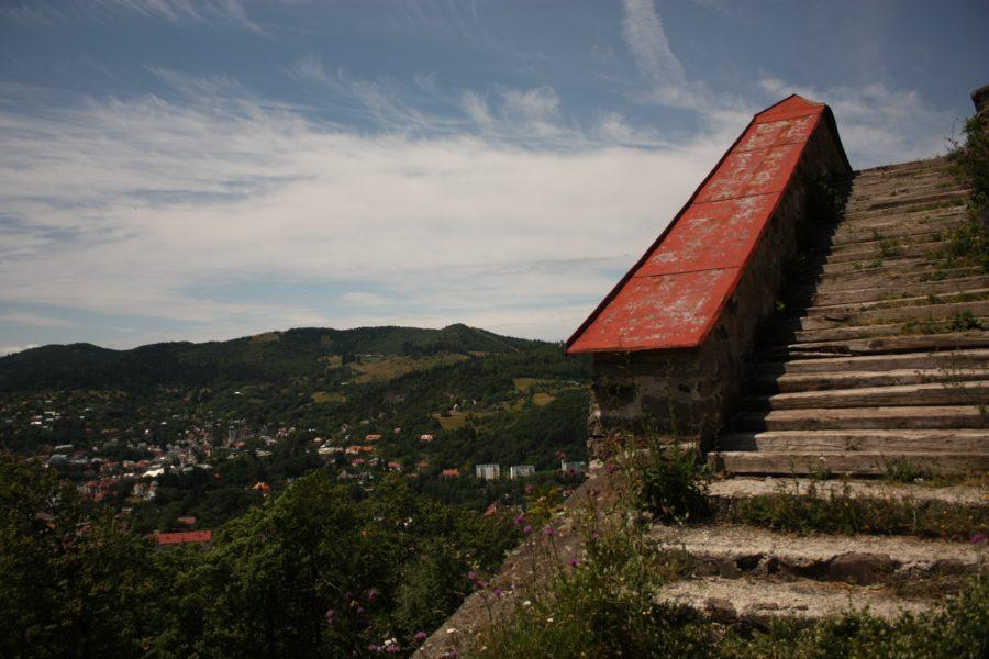Trepte către Kalvary, Banska Stiavnica, Slovacia