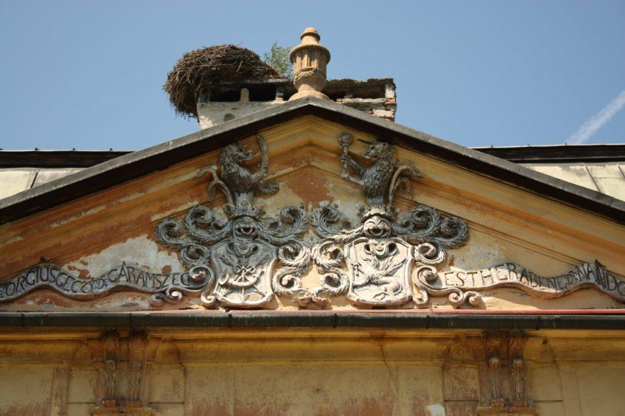 Emblema castelului din Hronsek, Slovacia