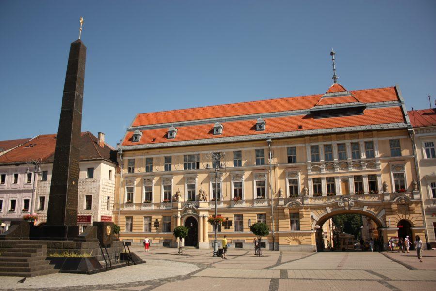 Centrul orașului Banska Bystrica, Slovacia