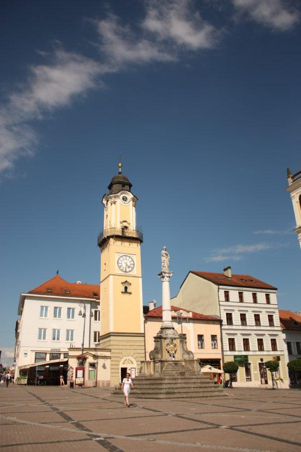 Turnul cu ceas, Banska Bystrica, Slovacia