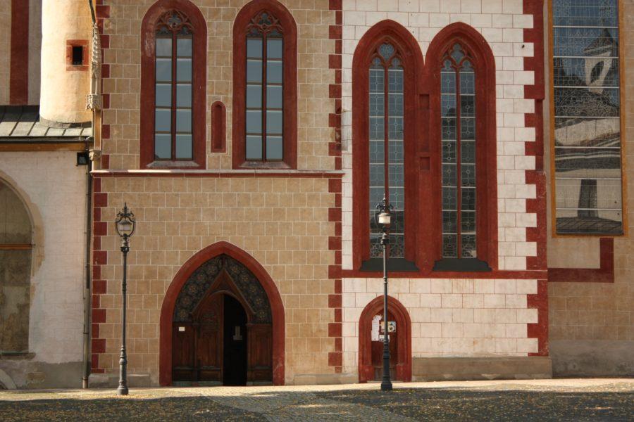 Intrarea în Castelul din Banska Bystrica, Slovacia