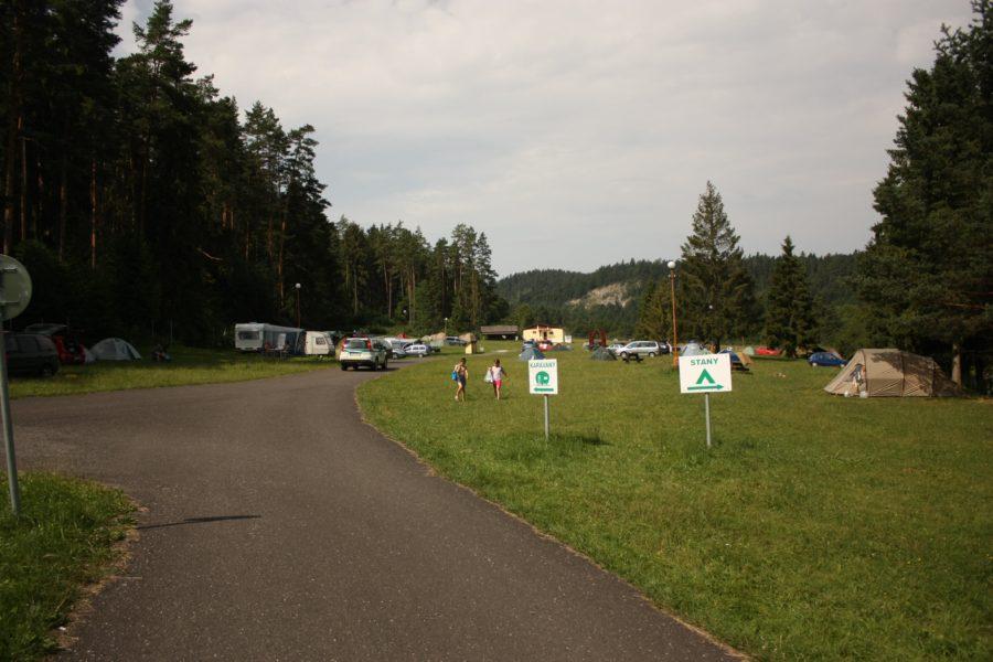 Camping Podlesok în Parcul Natțional Paradisul Slovac