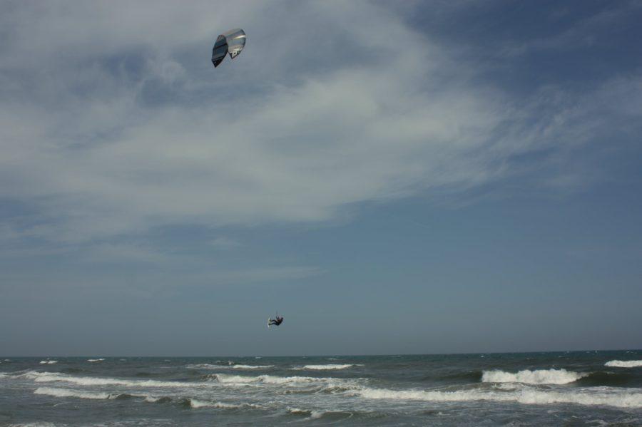 Parasailing la Marea Neagră