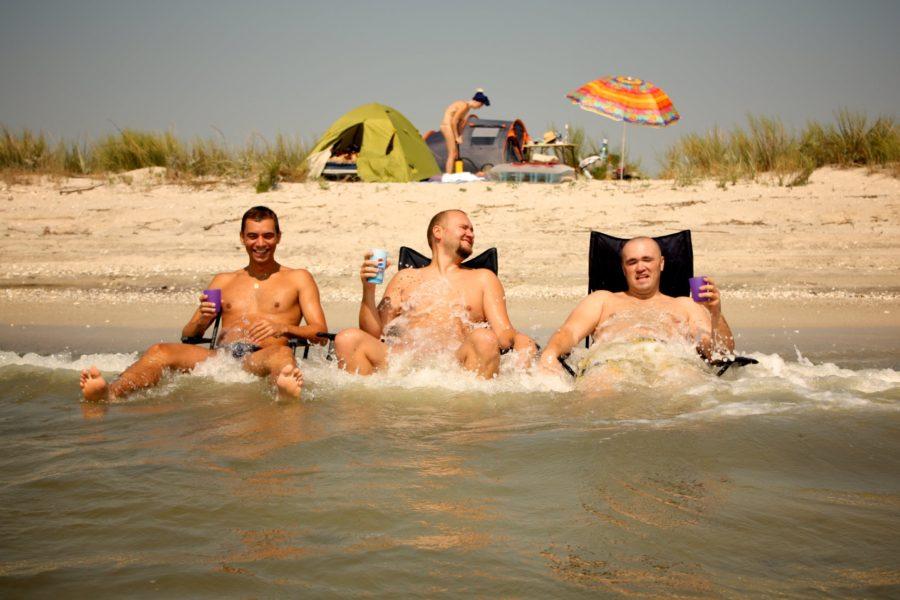 Vacanța de vară la mare la Vadu