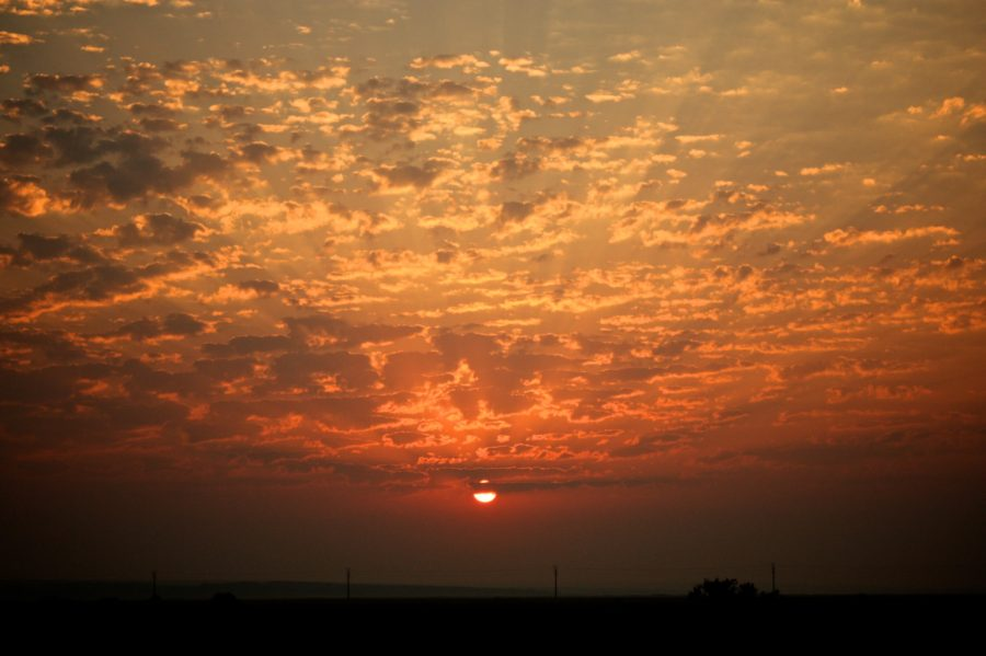 Soarele apune la Vadu, Marea Neagră