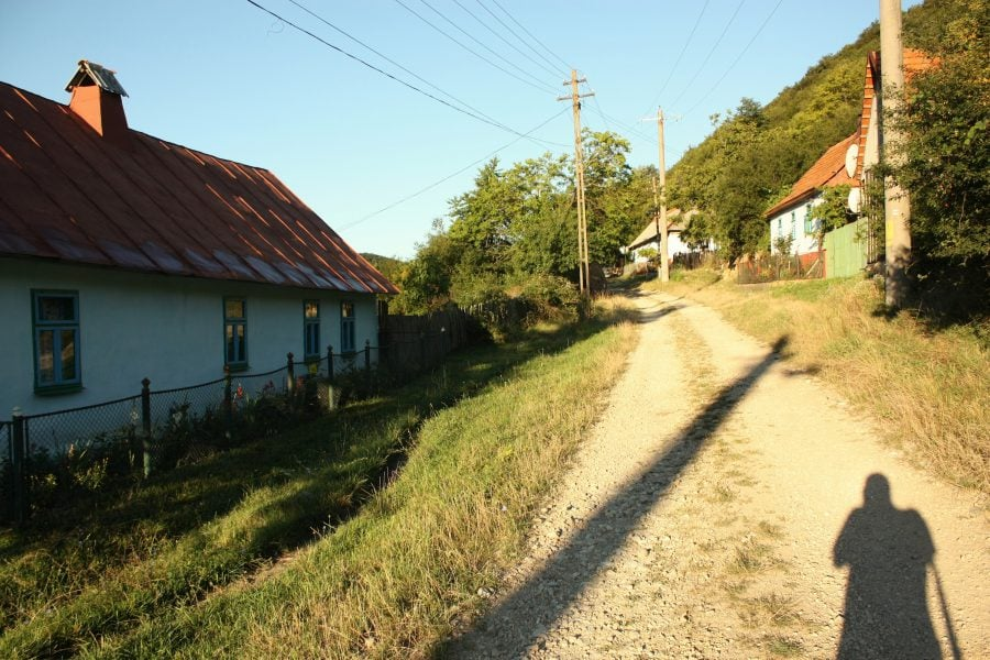 Pe ulița satului în Banat