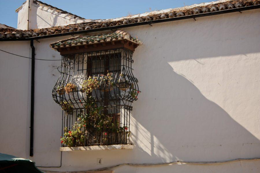 Balcon cu fratii în Spania, Ronda