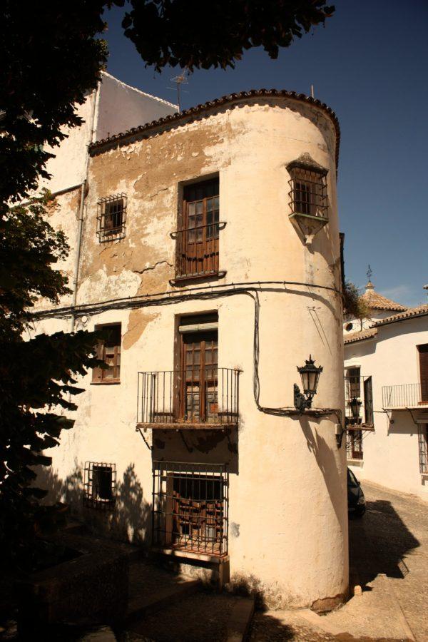 Casă rotunda în Ronda, Spania