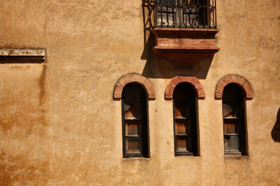 Ferestre spaniole, Ronda, Andaluzia, Spania