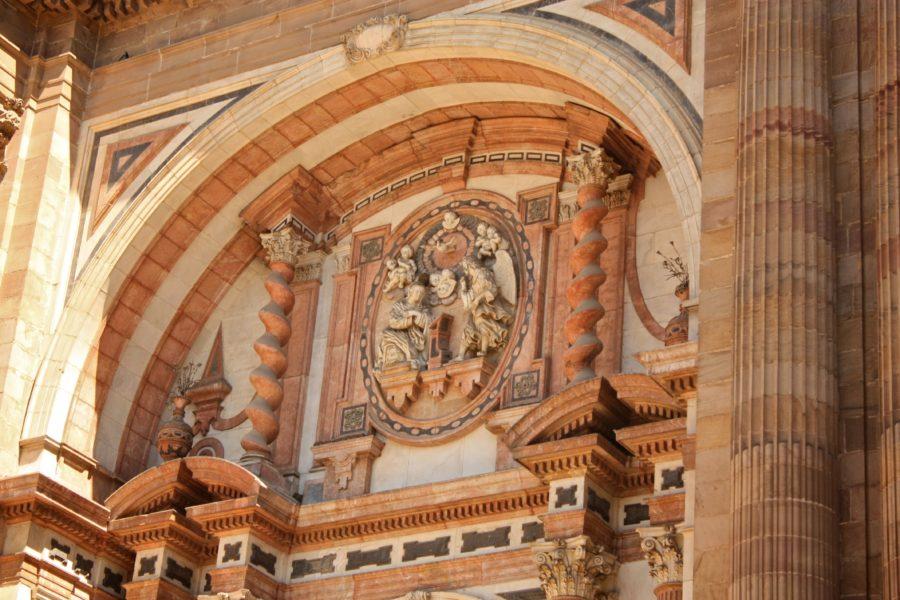 Decorațiune clădire spaniolă, Andaluzia, Malaga