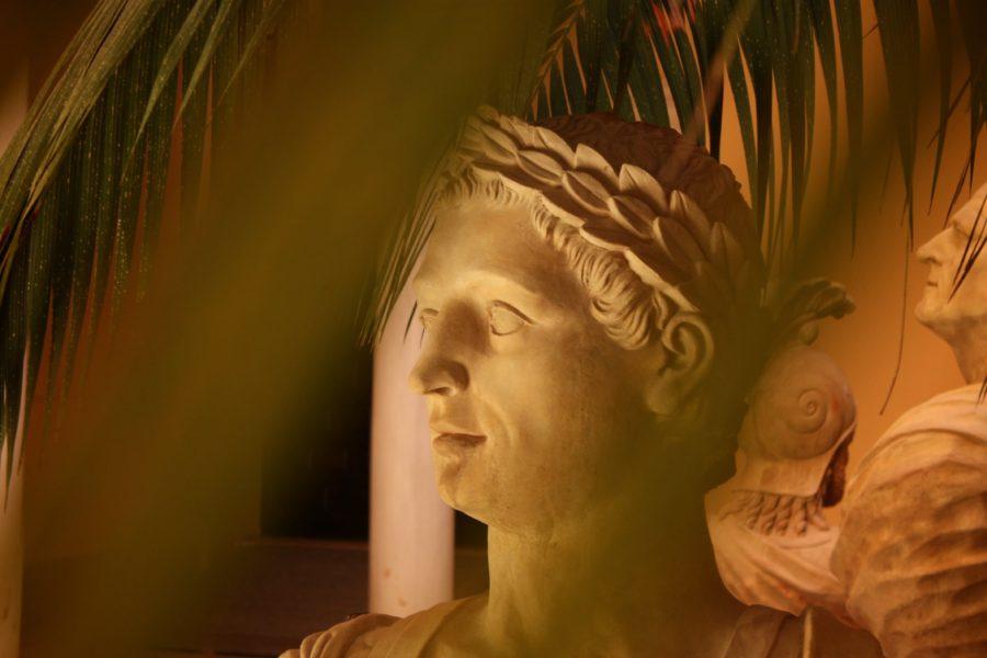 Cap de statuie romană