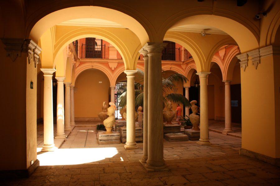 Curte interioară, Malaga, Spania