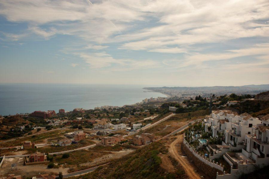 Marea mediterană, Benalmadena, Costa del Sol, Spania