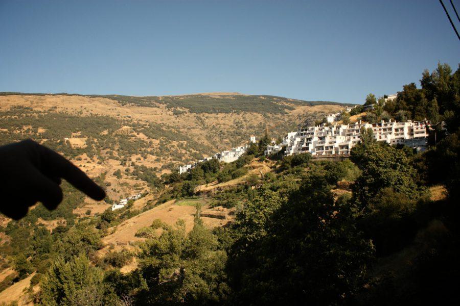 Sate albe în Alpujarras, Andaluzia, Spania