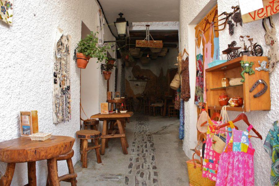 Magazin local, Pampaneira, Alpujarra, Spania