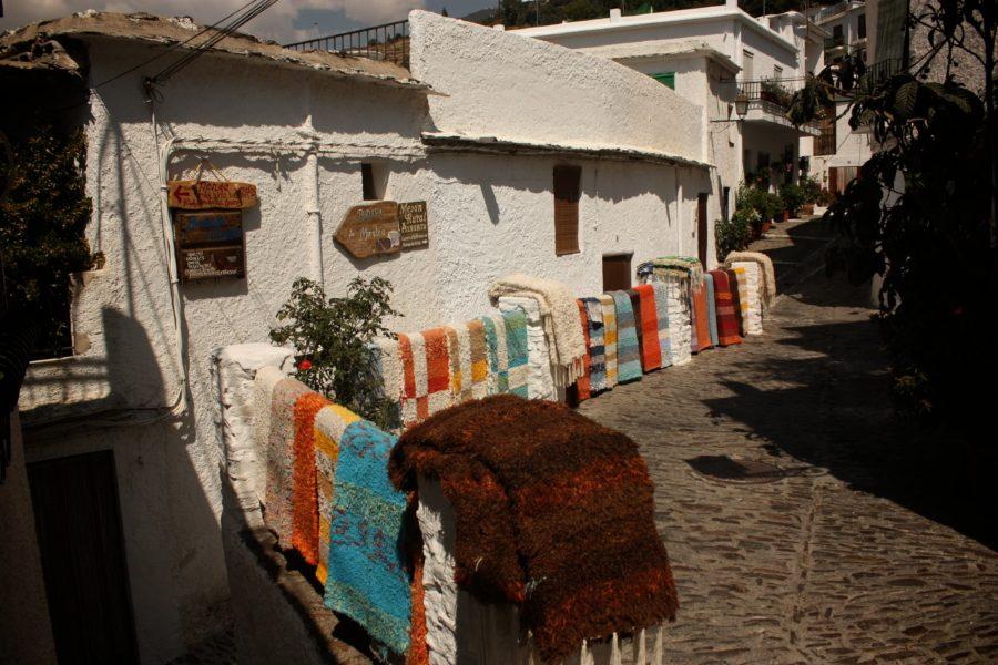 Tesături spaniole, Pampaneira, Alpujara, Spania