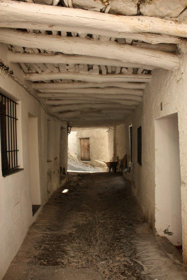 Stradă în Pampaneira, Alpujarras, Spania