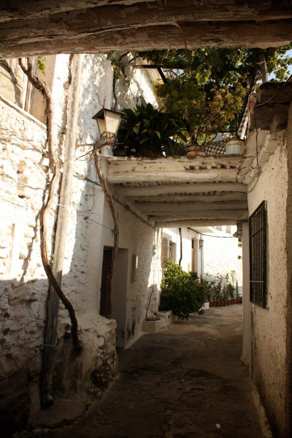 Stradă în satul Pampaneira, Alpujarras, Spania