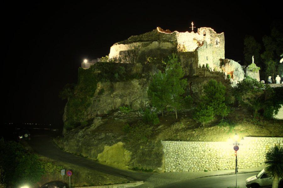 Satul Mijas noaptea, Spania